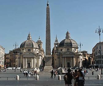 Plaza del Popolo Roma