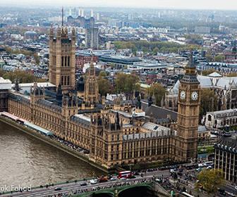 Palacio de Westminster y Big ben Londres