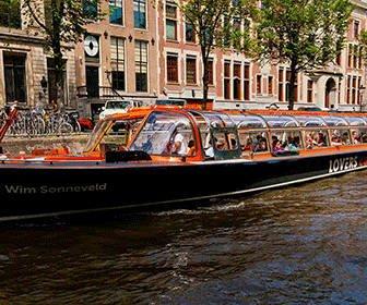 Crucero canales de Amsterdam