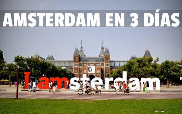 Amsterdam en 3 dias