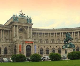 La plaza de los heroes Viena