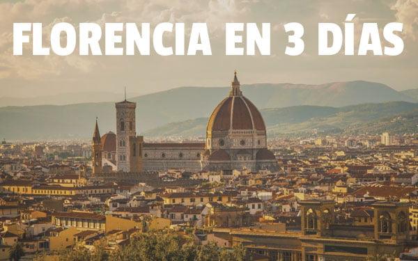 Florencia en 3 dias