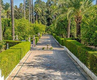 Jardín del Real Alcázar de Sevilla