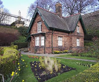 Jardines de Princes Street