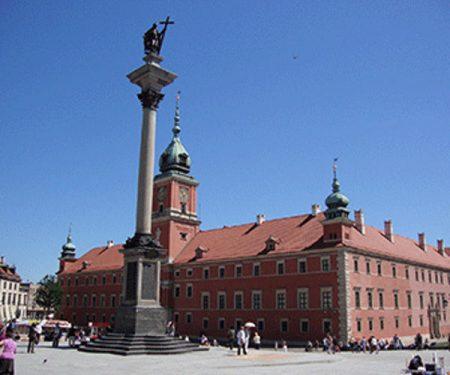 Castillo real y Columna de Segismundo III Vasa