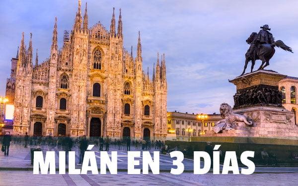 Milan en 3 dias