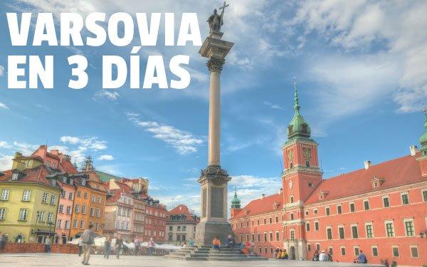 Varsovia en 3 dias