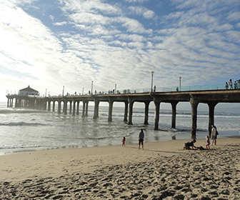 Playa del Muelle de Santa Mónica