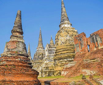 ayutthaya cerca de Bangkok