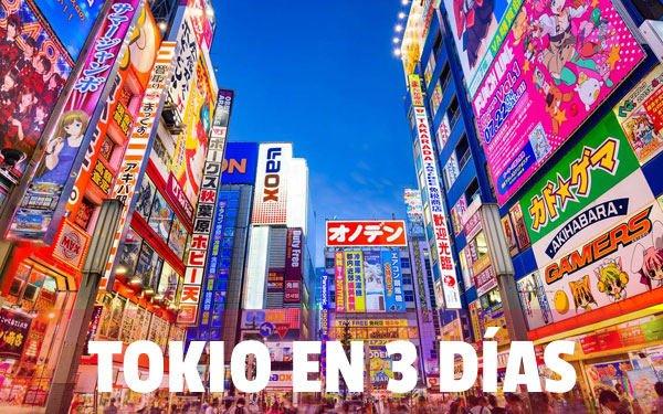 Tokio en 3 dias
