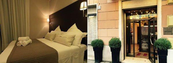 Hoteles economicos en Roma