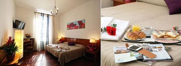 Mejores hoteles baratos de roma