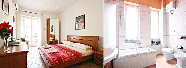 lista de hoteles baratos en roma