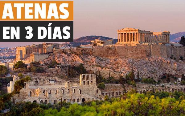 Atenas en tres días