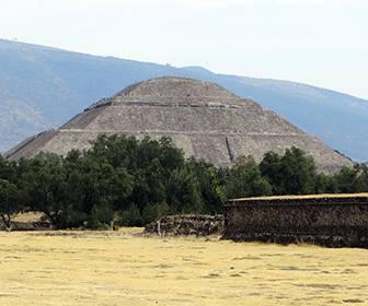 Piramide del sol en Teotihuacan
