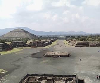 Pirámides de TEotihuacan en MEXICO