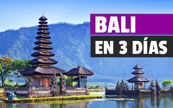 Que ver en Bali en tres dias