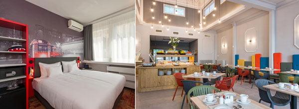 Hoteles baratos de Budapest