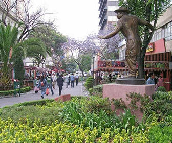 Zona Rosa Mexico DF