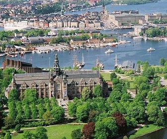 Isla de Los museos Estocolmo