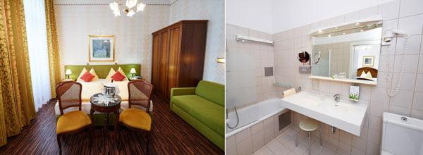 Hoteles baratos en Viena