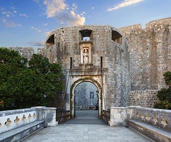 Puerta entrada a Dubrovnik