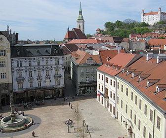Plaza Principal de Bratislava
