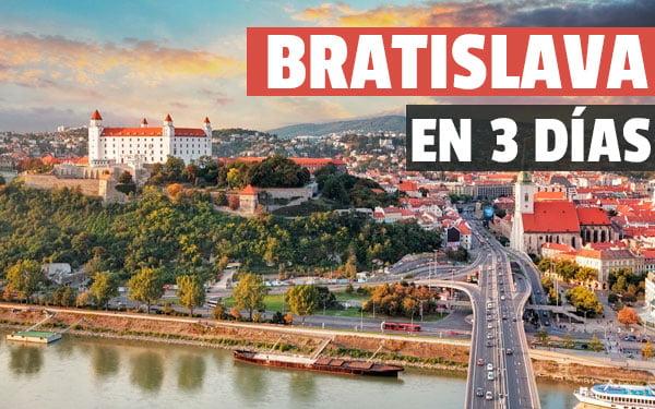 Bratislava en tres dias