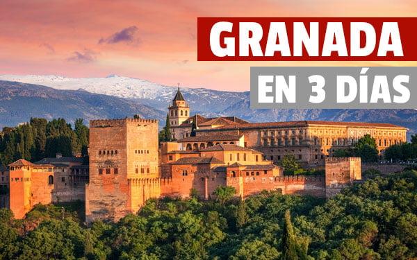 Granada en 3 dias