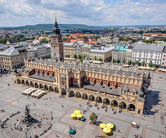 Plaza principal de Cracovia