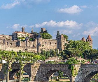 ciudad vieja de Carcassonne