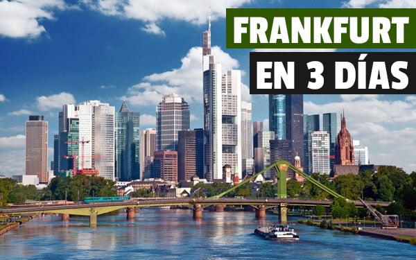 Que ver en Frankfurt en tres dias