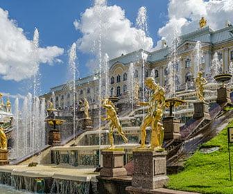 Palacios cerca de San Petersburgo