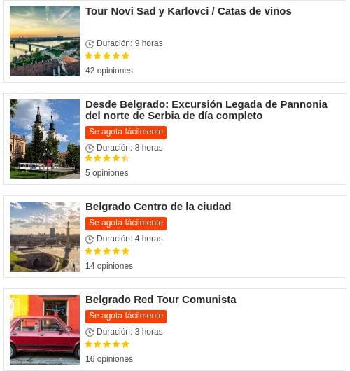 Belgrado: Get Your Guide