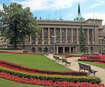 Palacio nuevo de Belgrado