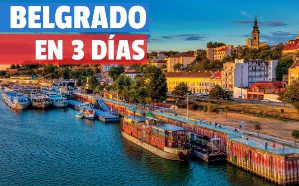 Belgrado en tres días