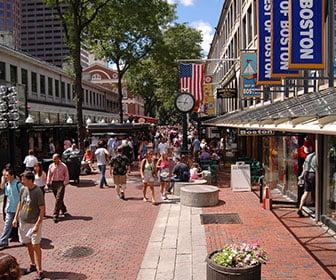 Ir de compras en Boston