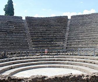 Pompeya cerca de Napoles