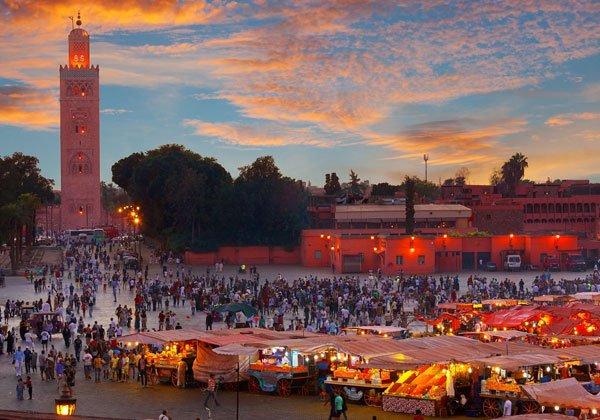 En cuantos dias se ve marrakech