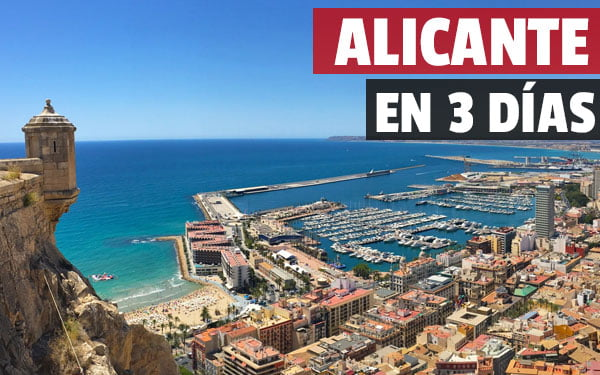 Alicante en tres días