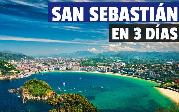 San Sebastián en tres días