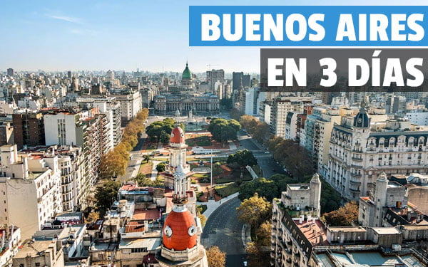 Buenos Aires en tres dias