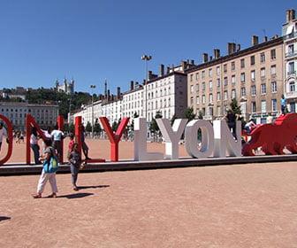 Plaza principal de Lyon