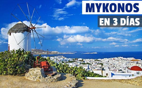 Mykonos en tres dias