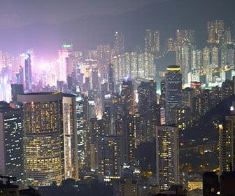 tres días en Hong Kong