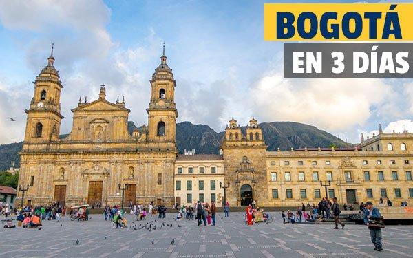 Bogotá en tres dias