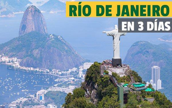 Río de Janeiro en tres dias