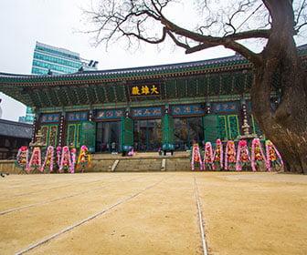 templos coreanos en seul
