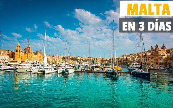 Malta en tres dias