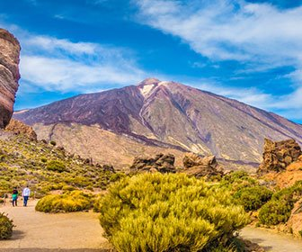Ver el Teide en Tenerife